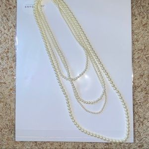 3 faux pearl necklaces FREE IF BUNDLED W/ CLOTHING